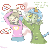 How Nepeta Feels About My Ships by Artizluv