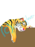Baby Tiger WIP by Mspugluver