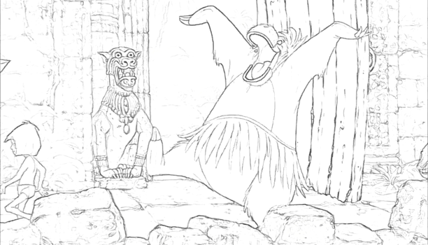 Jungle Coloring Book page 2 by Richard67915