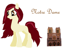 .:Notre Dame:. by HomestuckObsessed