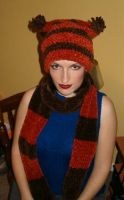 Cleveland Browns Hat n Scarf by colormist