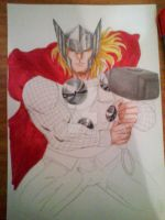 Making of Thor pic III by victoriapieroni