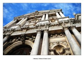 Venice - Santa Lucia's church by frescendine