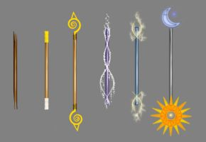 Aryll Weapons by go-chan