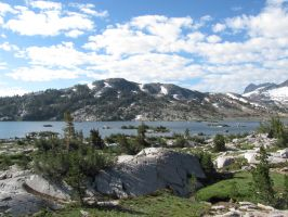Thousand Island Lake by NMWoodcarver