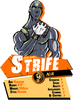 Bully Eater Charater REPORT CARD: Stife by BullyEater