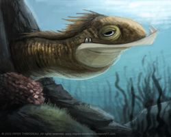 DAY 239. Eels, yo by Cryptid-Creations