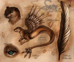 Saen - Reference Sheet by LuxDani
