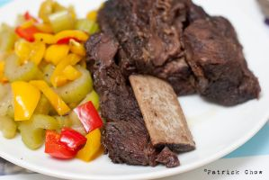 Short-ribs braised in red wine 1 by patchow