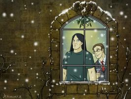 Metal holiday pic by animama