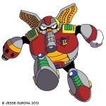 Mega Man X: Flame Mammoth by Despondent-Mega-Man