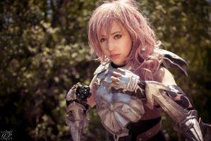 FFXIII-2 - Lightning 4 by LiquidCocaine-Photos