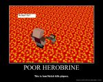 How Herobrine Got Deleted (Minecraft) by NolerRobert