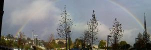 panorama rainbow on a monday by jangosgirl