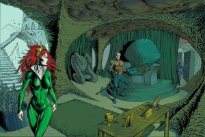 Aquaman's Throne Room Color 1 by craigcermak