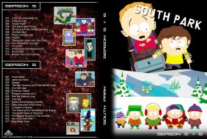 South Park DVD Cover_5 + 6 by Zwerg-im-Bikini