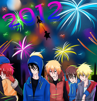 Happy New Year 2012 by Timeless-Knight