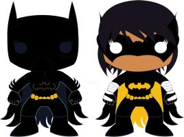Cassandra Cain - POP Heroes Style by POPPED-UP