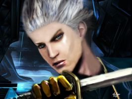Vergil - Devil may cry by xkalipso