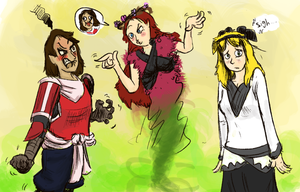 Forceful Girls Get Medieval - By SMeo2020 by gchris5523