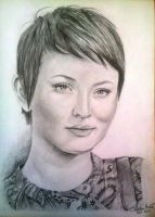 Retrato Emily Browning by Sebaherart