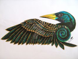 Starling Design I by vermilionbird