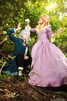 Pandora Hearts - Cup Tower by adelhaid