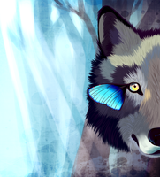 Eyes Of The Forest by Sterniee