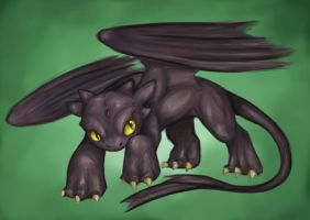 Toothless by Totalrandomness