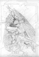 SPIDEY IN LUCCA LITHO PENCILS by simonebianchi