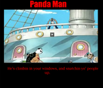 PANDA MAN  One Piece by ShatterMist