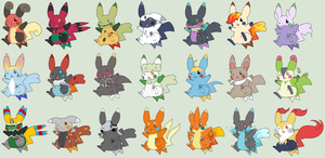 Free Pikachu Adoptables ~CLOSED!~ by zX-ShadowLugia111-Xz