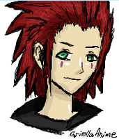 Axel by GriellaAnime