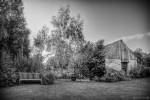 Jardin BW by VicDeS-P