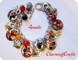 Halloween Witches Bracelet by Anne-Claire-Annelle