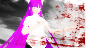 [MMD] Ohiko 2 [_theBlue] by CryogenicNeon