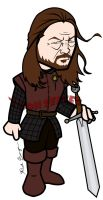 Lord Eddard Stark - Game of Thrones by toonseries