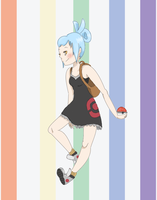 aspin // pokemon trainer OC by teabutts