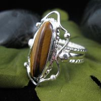 Tiger's Eye Ring by camias