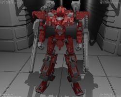VAE-668-G1 BattleSmith by AceDarkfire