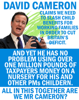 Cameron the Benefit Scrounger by Party9999999
