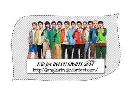 [Render Pack] EXO for KOLON SPORST 2014 - 12 PNGs by jangkarin