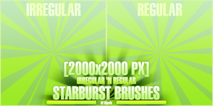 Starburst Brushes 2000x2000 PX by JoseMiguelK
