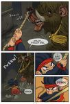 Ninja Monkey Comic p2 by The-Z