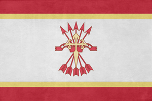 Flag of the State of Spain by Lyniv
