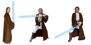 Obi-Wan Kenobi stances by Skull-the-Kid
