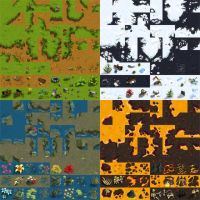 Tilesets for Warlords RTS by ThaneBobo