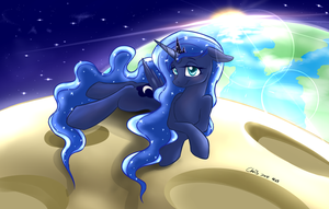I heard the weather is good on moon now by YenTzuLin