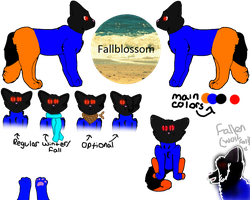 Fallblossom updated ref by Official-Fallblossom