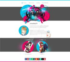 Layout for my own website by oOnadileeOo